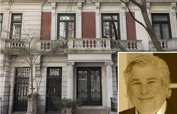 116 East 65th Street in Lenox Hill (inset: Frederick Rudd)