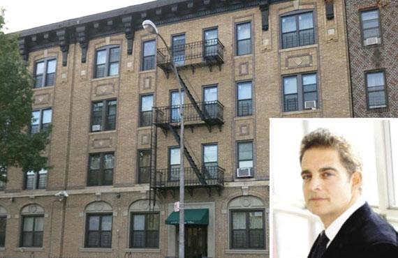 1402 Sterling Place in Brooklyn (inset: Aaron Jungreis)