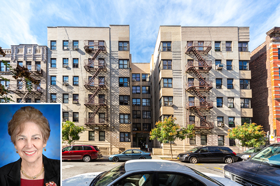 Part of the portfolio from St. Nicholas Avenue between West 164th and West 192nd Streets in Washington Heights