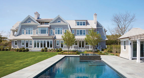 A $27.9 million listing at 500 Old Town Road in Southampton being marketed by Bespoke and Sotheby's