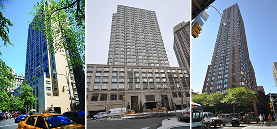 800 Madison Avenue 1930 Broadway 350 East 79th Street