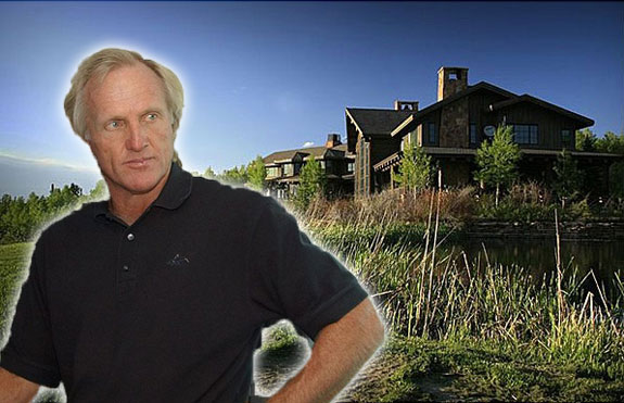 Greg Norman (photo credit: Tommy Gilligan) and his ranch