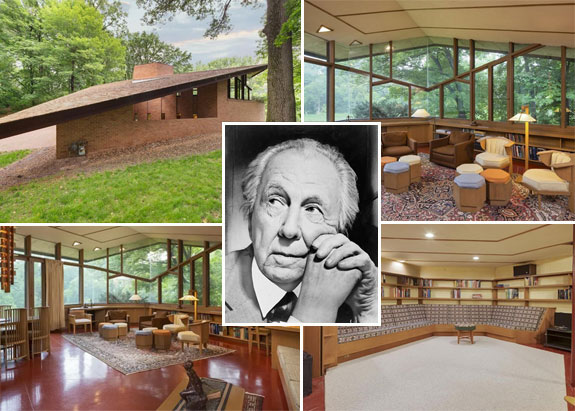 Frank Lloyd Wright and the house in Minneapolis