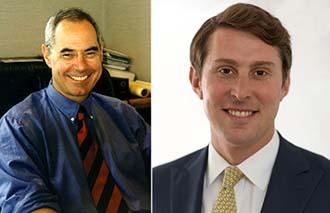 From left: Jeffrey Katz and Jonathan Snider