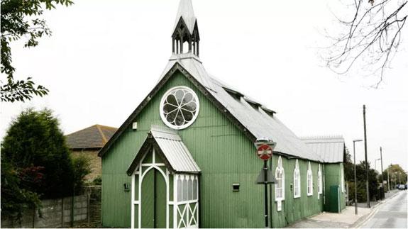 """The """"tin church"""" in Kent"""