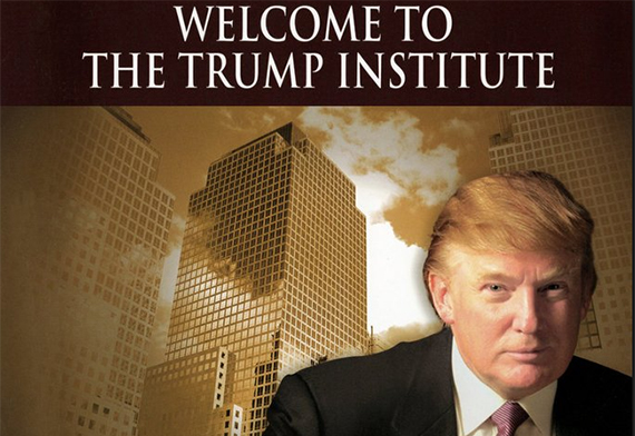 The cover of a Trump Institute textbook