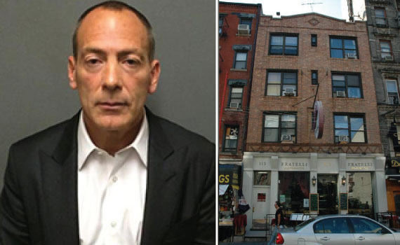 From left: Steven Croman and 115 Mulberry Street