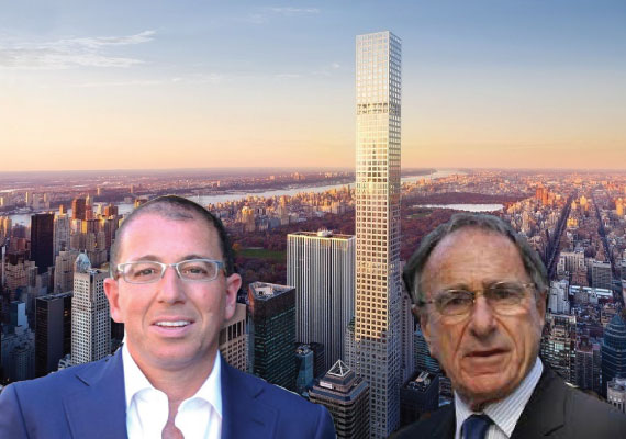 432 Park Avenue with Harry Macklowe and Joseph Sitt (right)