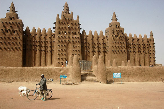 The Grand Mosque in Djenné, Mali
