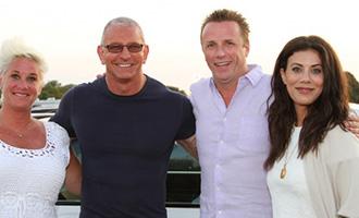 Celebrity chefs at a Dan's Hamptons event (credit: Dan's Taste of Summer)