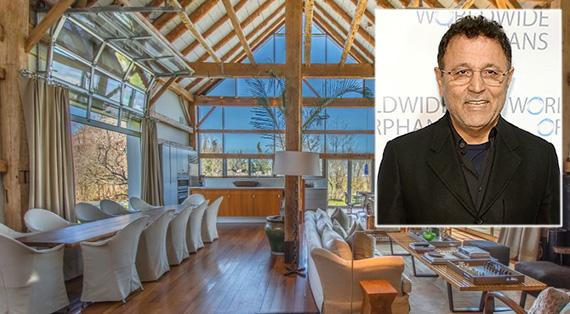 Designer Elie Tahari and his Hamptons home at 135 Crestview Drive