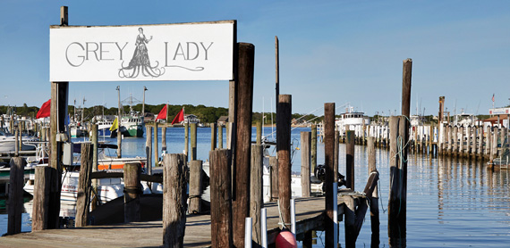 Grey Lady, a dockside seafood restaurant that just opened in Montauk