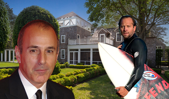 Matt Lauer, Dylan Eckhardt and the Killing Kitten sex party mansion at 400