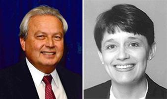 The RSA's Joseph Strasburg and the RGB's Kathleen Roberts