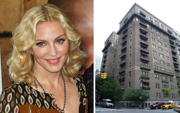 Madonna (photo credit: David Shankbone) and the Harperley Hall