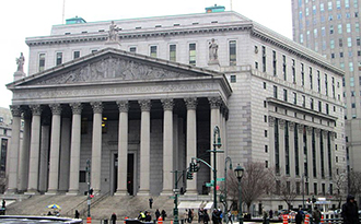 New York State Supreme Court House (credit: Wikimedia Commons)