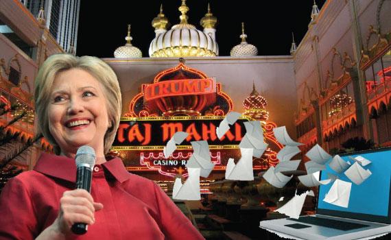 Hillary Clinton and the Taja Majal