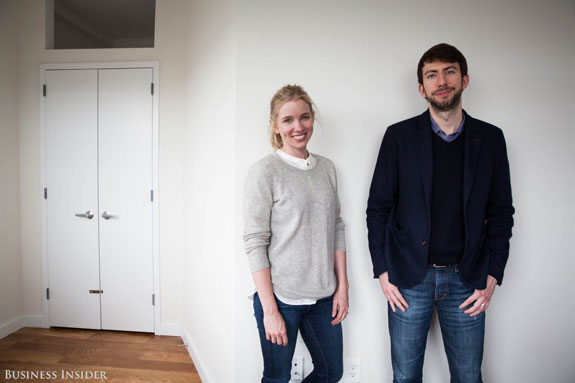 Common's Sophie Wilkinson and Brad Hargreaves. Photo credit: Business Insider