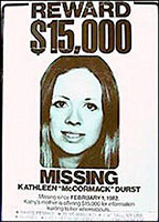 Kathleen Durst's missing person flyer