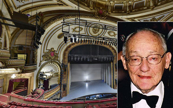 James Nederlander and the Palace Theater