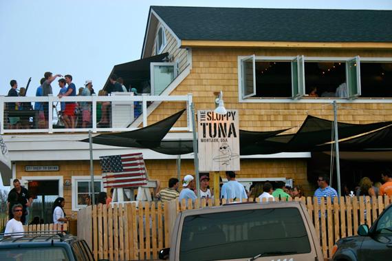 Montauk's popular bar and restaurant Sloppy Tuna