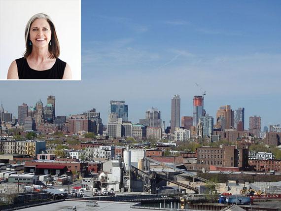 The Brooklyn skyline (inset: Deborah Berke)