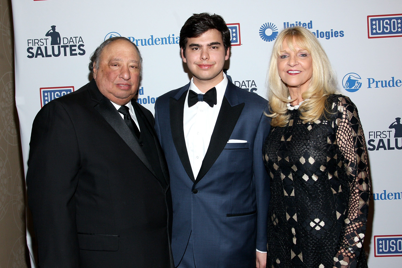 From left: John Catsimatidis, John Catsimatidis, Jr. and Margo Catsimatidis (Credit: Steve Mack/FilmMagic via Getty Images)