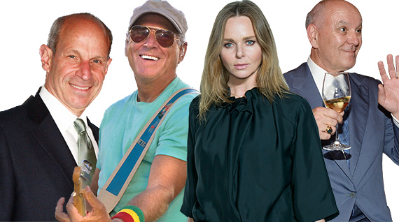 Jonathan Tisch, Jimmy Buffett, Stella McCartney and