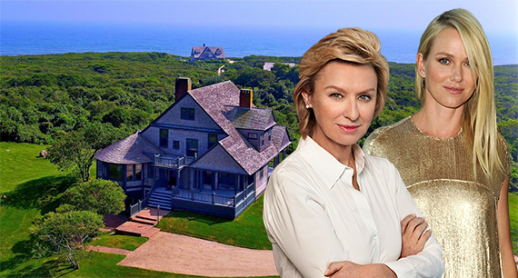 Tina Brown, Naomi Watts and the Shingle Style house at