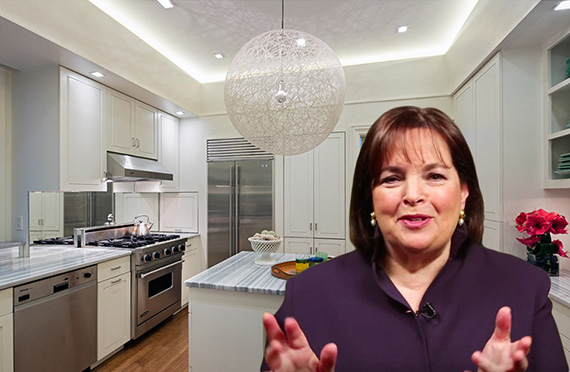 "According to the listing, the kitchen is, ""perfect for an enthusiastic cook."""
