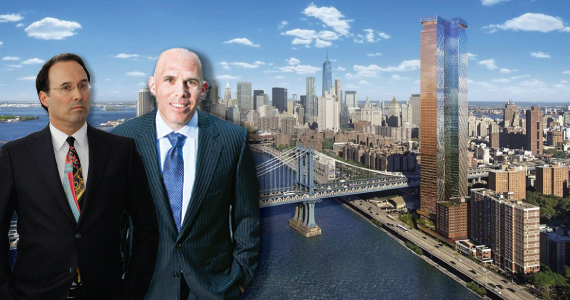 Gary Barnett, Scott Rechler and One Manhattan Square