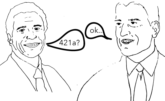 Andrew Cuomo and Bill de Blasio (Illustration by Lexi Pilgrim for The Real Deal)