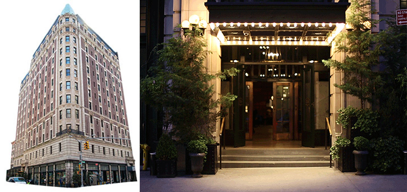 The Ace Hotel at 20 West 29th Street in Flatiron (credit: The Ace Hotel)