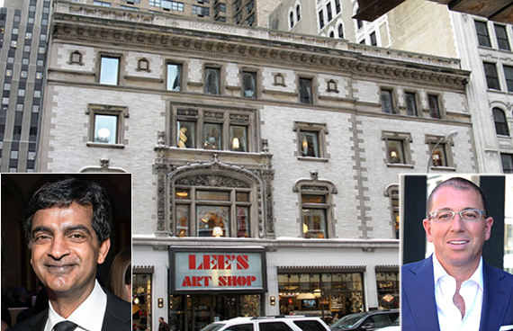GGP's Sandeep Mathrani, Thor's Joseph Sitt and 218 West 57th Street
