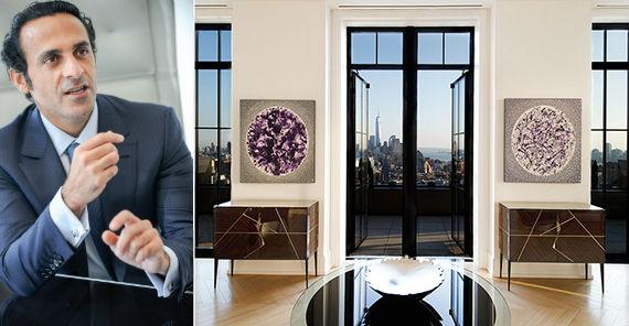 Khadem Al Qubaisi and Walker Tower penthouse