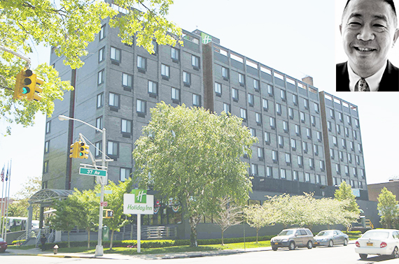 Holiday Inn LaGuardia (inset: Sam Chang)