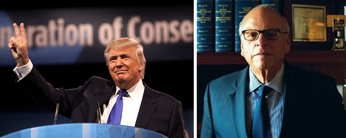 Donald Trump and Howard Lorber
