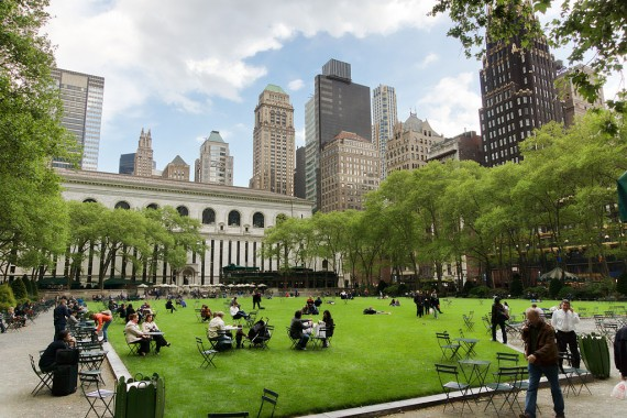 Bryant Park in Midtown