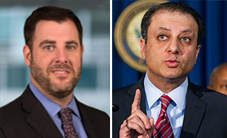 Brian Block and Preet Bharara