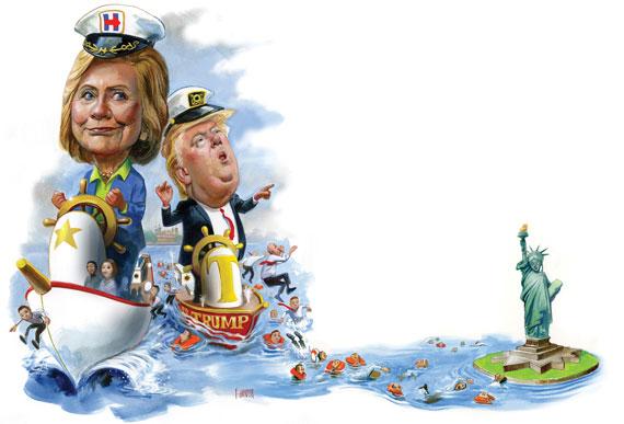 Clinton_Trump_by-Fred-Harper