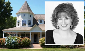Joy Behard and her new house at