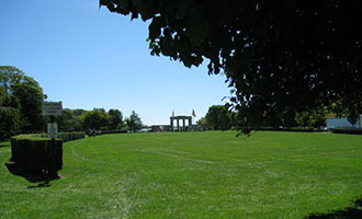 Agawam Park in Southampton
