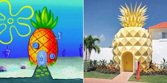 SpongeBob's Bikini Bottom abode