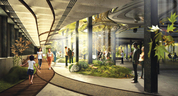 Rendering of the Lowline