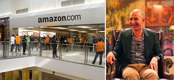 how to find stores on amazon