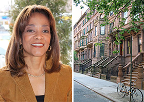 Cheryl Keeling and Harlem brownstones