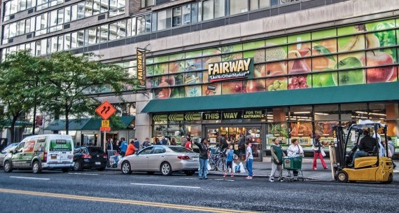 Fairway Maket at 240 East 86th Street on the Upper East Side credit: Fairway)