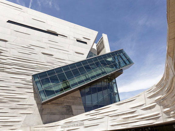 Dallas' Perot Museum of Nature and Science, designed by the architecture firm Morphosis, is one of the coolest buildings in America.(Philip Lange/Shutterstock)