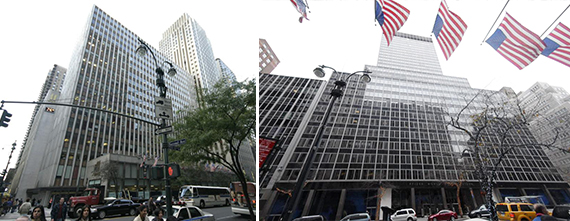 218 and 235 East 42nd Street
