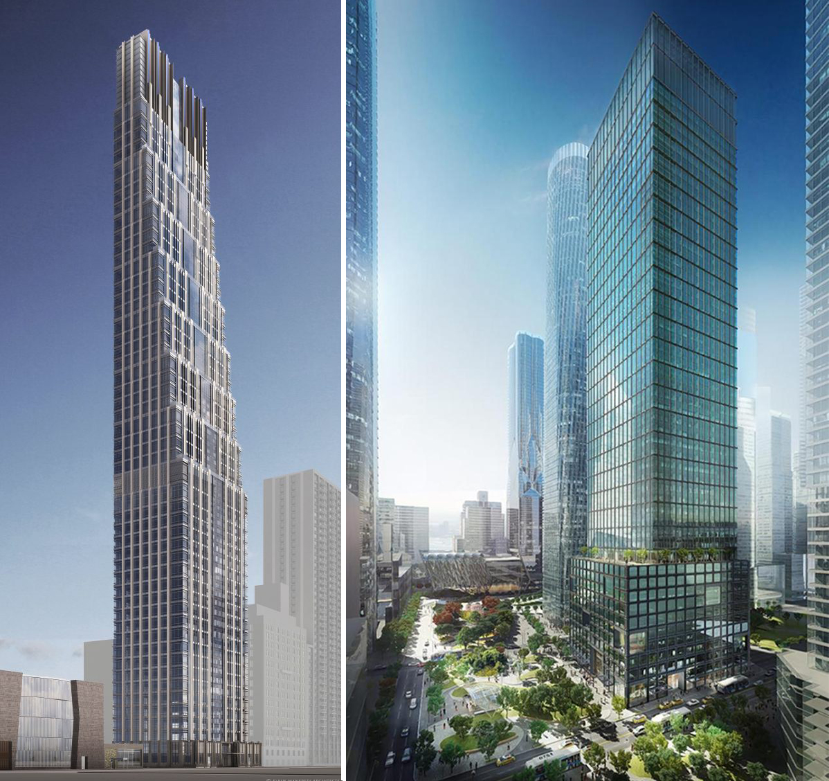 200 Amsterdam Avenue and 55 Hudson Yards